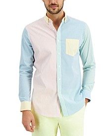 Men's Mixed-Stripe Shirt, Created for Macy's
