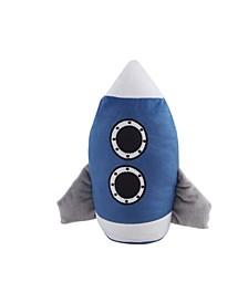 Kute Kids Retro Rocket Door Stopper