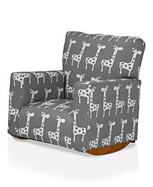Stornoway Upholstered Kids Rocking Chair