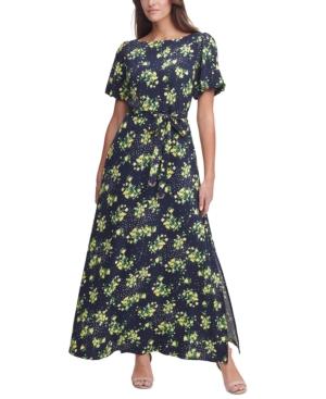 Tommy Hilfiger Maxi dresses PUFF-SLEEVE TWILL MAXI DRESS