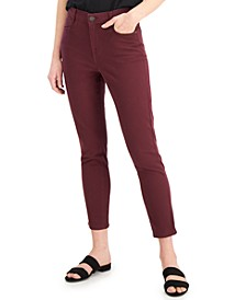 Petite Tummy-Control Slim-Fit Ankle Jeans, Created for Macy's