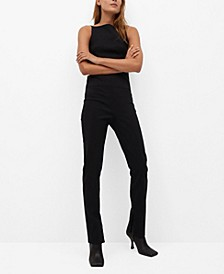 Women's Slit Hem Pants