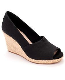 Michelle Espadrille Wedge Sandals
