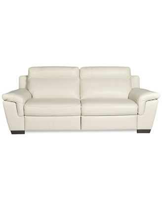 Leather Motion Sofa High Point Furniture Nc Queen Anne