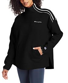 Women's Mock-Neck Zip Sweatshirt