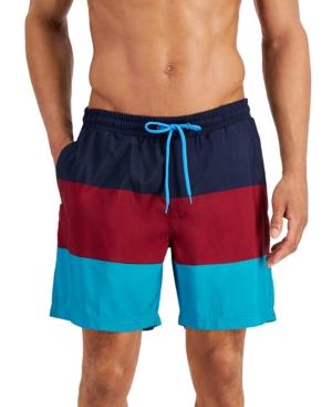 "Men's Colorblocked 7"" Swim Trunks"
