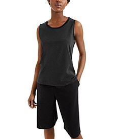 Sweater-Trim Tank Top, Created for Macy's