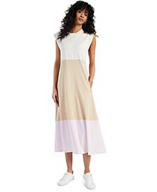 Colorblocked Sleeveless Maxi Dress, Created for Macy's