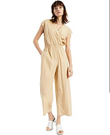 Faux-Wrap Jumpsuit, Created for Macy's