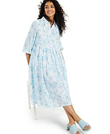 Printed Tiered Midi Dress, Created for Macy's