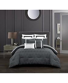 Arlow 8 Piece Comforter Set, Queen