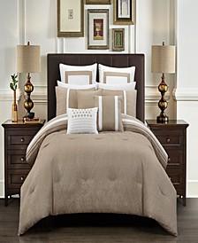 Arlow Bed in a Bag 12 Piece Comforter Set, Queen