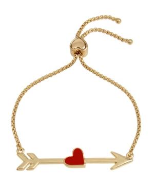 Heart Arrow Slider Bracelet