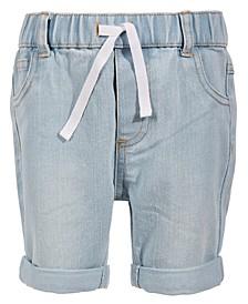 Toddler Boys Light Wash Denim Shorts, Created for Macy's