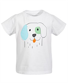 Toddler Boys Puppy Cotton T-Shirt, Created for Macy's