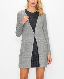 Women's Cozy Button-Up Cardigan