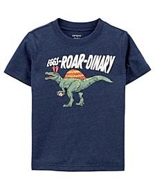 Toddler Boys Dinosaur Jersey Tee