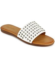 Women's Endrene Studded Slide Sandals