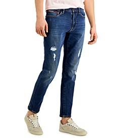 Men's Alister Distressed Skinny Jeans