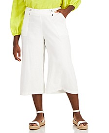 Plus Size Culotte Pants, Created for Macy's