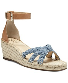 Women's Jadeya Braided Wedge Sandals
