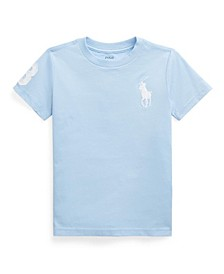 Little Boys Big Pony Jersey Tee