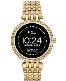 Access Gen 5e Darci Gold-Tone Stainless Steel Smartwatch 43mm