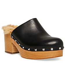 Brooklyn Studded Clogs