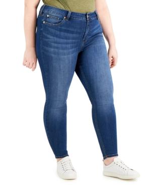 Trendy Petite Plus Size Skinny Jeans