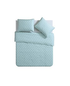 Buckingham Diamond 3 Piece Coverlet Set, King