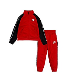 Toddler Boys Swoosh Tricot Taping Jacket and Pant Set