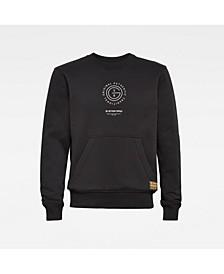 Multi Graphic Men's Long Sleeve Sweatshirt