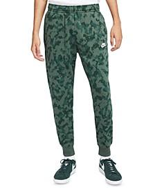 Men's Camo Fleece Jogger Pants