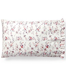 Maddie Cotton Percale Blossom Pair of Standard Pillowcases