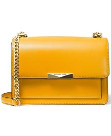 Jade Leather Shoulder Bag
