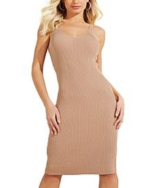 Nyx Sleeveless Ribbed Midi Dress