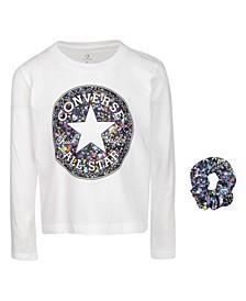 Big Girls Logo Long Sleeve Shirt