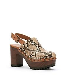 Women's Tiarah Block Heel Clogs