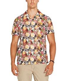 Men's Saprino Floral Button-Down Shirt