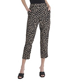 Women's Animal Print Reset Pull on Pants