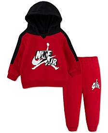 Baby Boys 2-Pc. Jumpman Classics Fleece Hoodie & Jogger Pants Set
