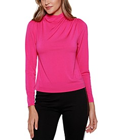 Black Label Long Sleeve Mock Neck Top