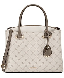 Eloise Logo Jet Set Large Signature Satchel
