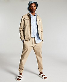 Men's Brad Twill Track Suit, Created for Macy's