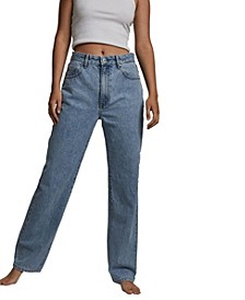 Women's Baggy Straight Jeans