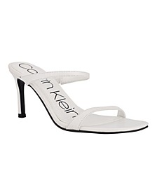 Women's Halena Open Toe Stiletto Heel Dress Sandals