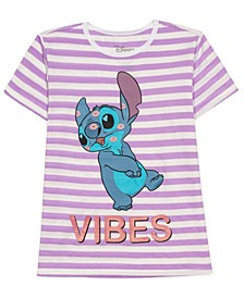 Girls Short Sleeve Stitch Tee