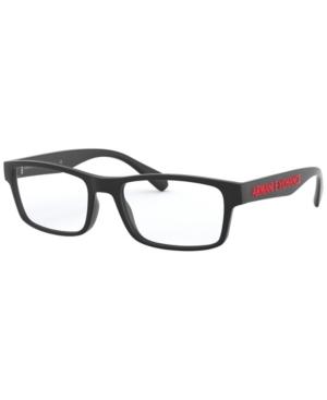 Armani Exchange AX3070 Men's Rectangle Eyeglasses