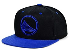 Golden State Warriors Black Royalty Snapback Cap