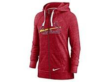 St. Louis Cardinals Women's Gym Vintage Full Zip Sweatshirt